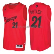 Chicago Bulls Basketball Drakter 2016 Jimmy Butler 21# NBA Julen Drakt..
